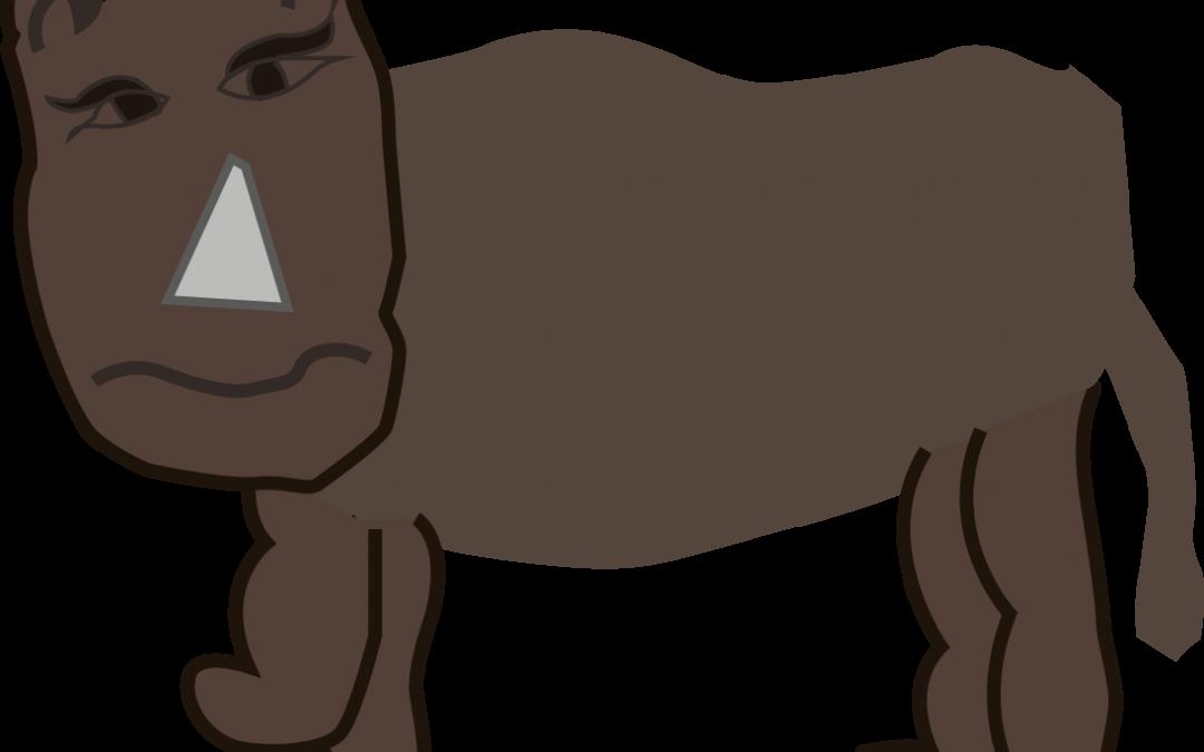 Rex, la pantera rinoceronte