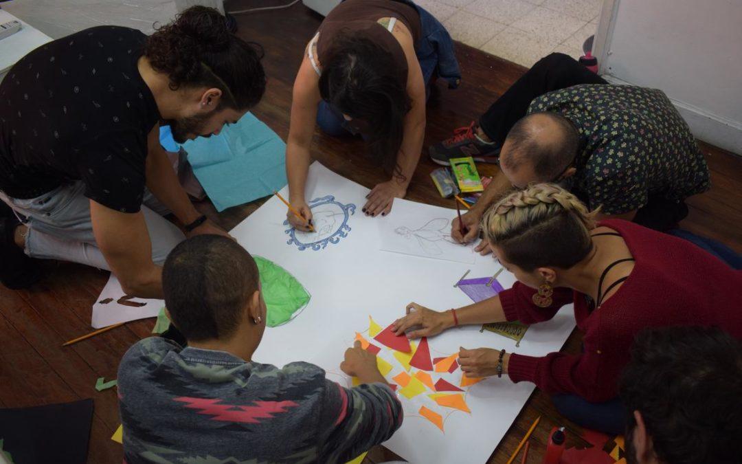 Títeres en Pantalla en el Taller Formador de Formadores de la Red Artes Escénica de Medellín